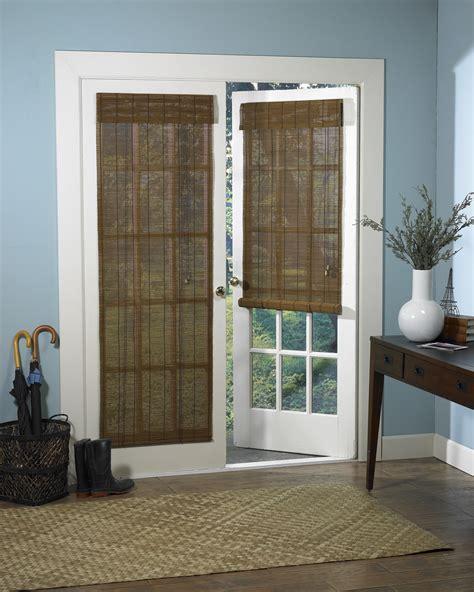 Blinds For Interior Doors 24 W X 72 L Fruitwood Brown Woven Wood Roll Up Door Window Shade Blind Ebay