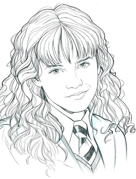 Hermione Granger Coloring Pages by Coloring Pages Hermione Granger Colouring Sheets Harry