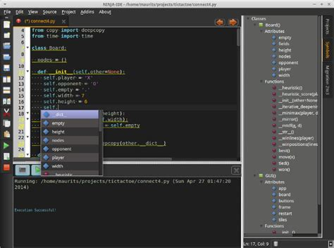 layout editor python ninja ide a swift open source python editor leaseweb labs