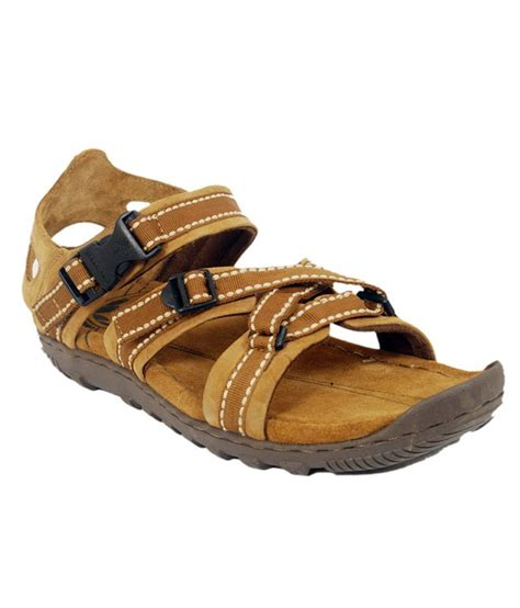 woodland leather sandals woodland camel leather sandals mgd485108cam buy