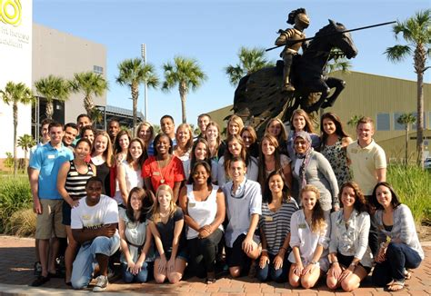 Of Central Florida Mba Sports Management by Students Serve Ucf President Hitt Ucf News