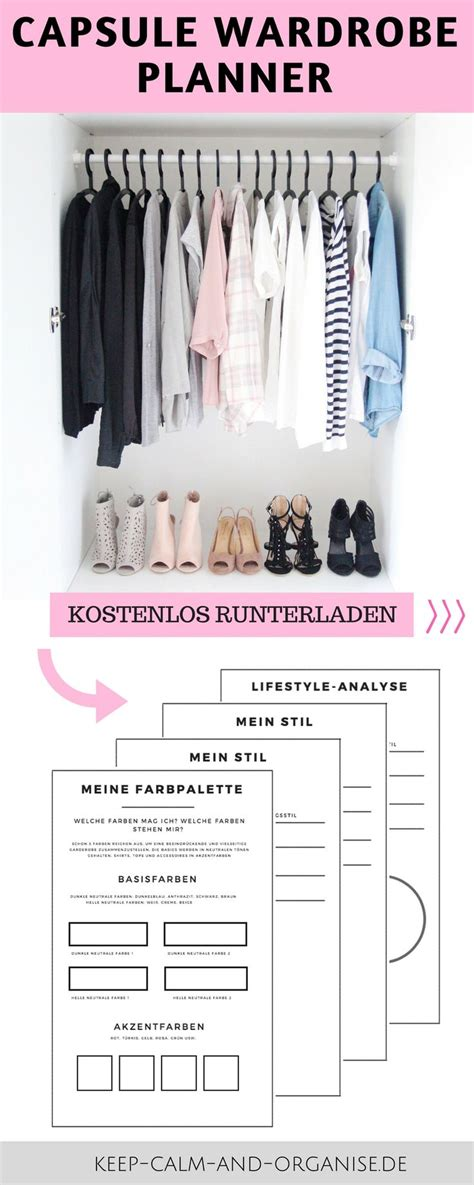 kleiderschrank ideen 2699 die besten 25 minimalistische garderobe ideen auf