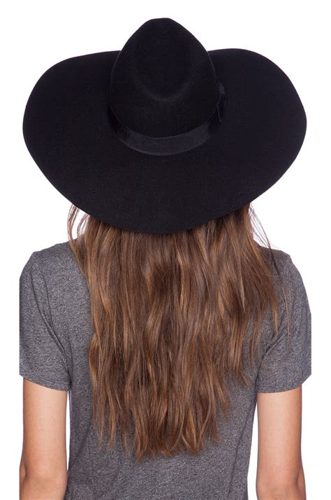 lack of color lack of color montana midnight muse hat in black lyst