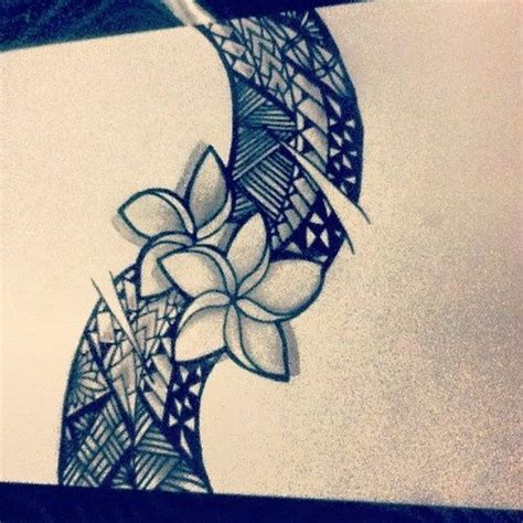 tattoo paper philippines tongan flowers drawing google search projects to try