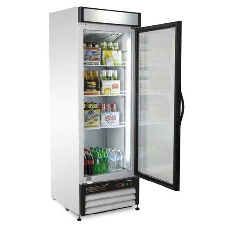 Single Door Glass Front Refrigerator Maxx Cold Single Glass Door Refrigerator 23 Cu Ft Appliances Refrigerators Freezerless
