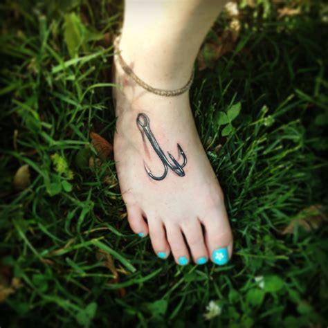 treble hook tattoo treble hook tattoos hook tattoos