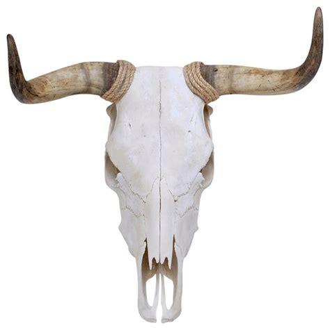 Bull Skull Decor by Fighting Bull Adhesive Wall Decal