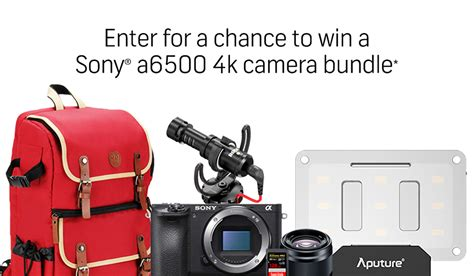 Shutterstock Camera Giveaway - win a 4k sony a6500 camera rig worth nearly 3000 from shutterstock