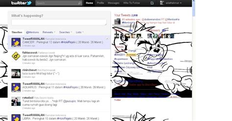 membuat twitter transparan cara membuat sidebar transparan di twitter arief rahman