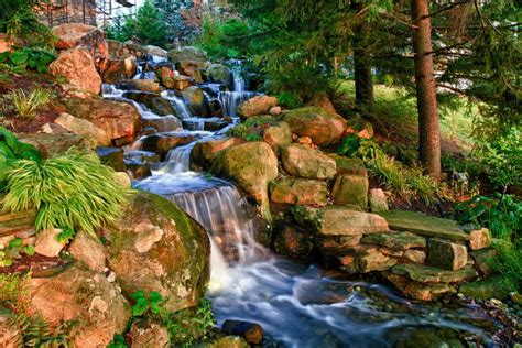 how to build a stream in your backyard backyard streams pond streams pondless stream morris
