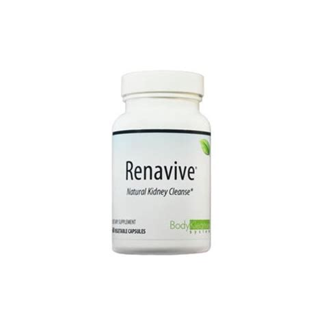 Global Health Kidney Detox by Renavive 174 Kidney Cleanse 60 Capsules By Global