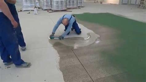 Epoxy flooring with Quartz   BAUTECH Floors   YouTube