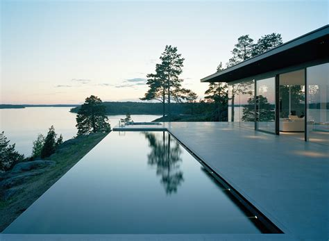 modern lake house modern lake house by robert nilsson