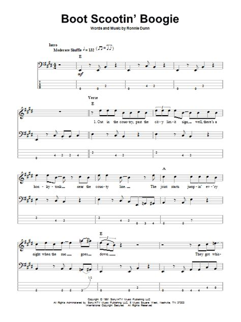 buy me a boat chords cowboy lyrics boot scootin boogie by brooks dunn bass tab guitar
