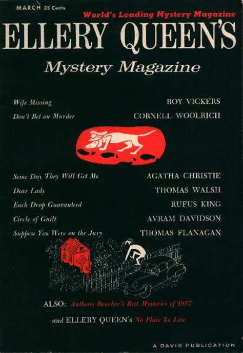 Ellery Mystery contents lists