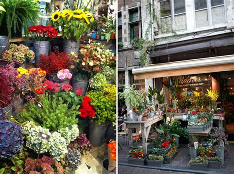 Wedding Flower Shop by A European Honeymoon Belgium Green Wedding Shoes