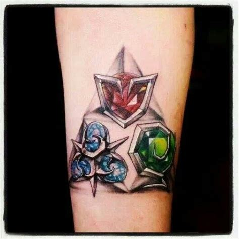 zelda triforce tattoo ocarina of time epic inky goodness