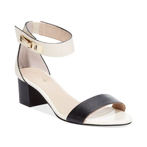 charles david shoes lyst charles by charles david sandals in black