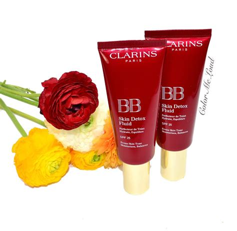 Clarins Bb Detox Fluid Review by Clarins Instant Glow 2016 Review Swatch Fotd