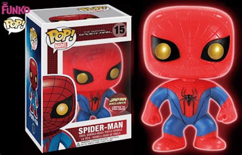 Funko Pop Marvel The Amazing Spider 2 Spider 45 1 the blot says japan exclusive the amazing spider