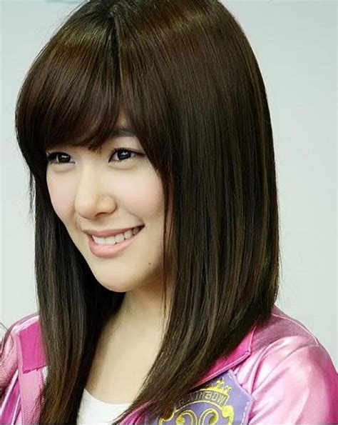 Women's Hairstyles: Asian Medium Length Hairstyles For