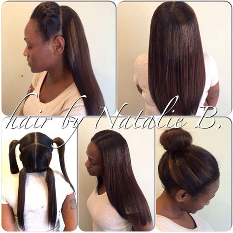 versatile weave hairstyles check out this super versatile vixen sew in that i just