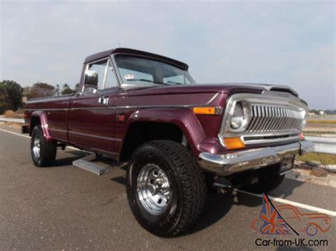 1978 Jeep J10 1978 Jeep J10 Quot Big Purple Gorgeous Restored Quot