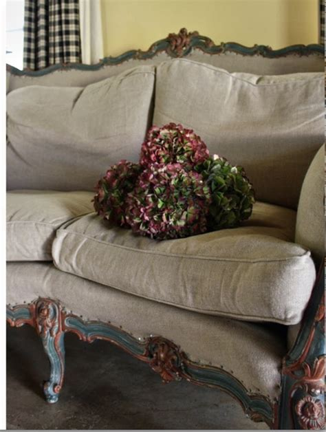 french settee painted furniture i love pinterest