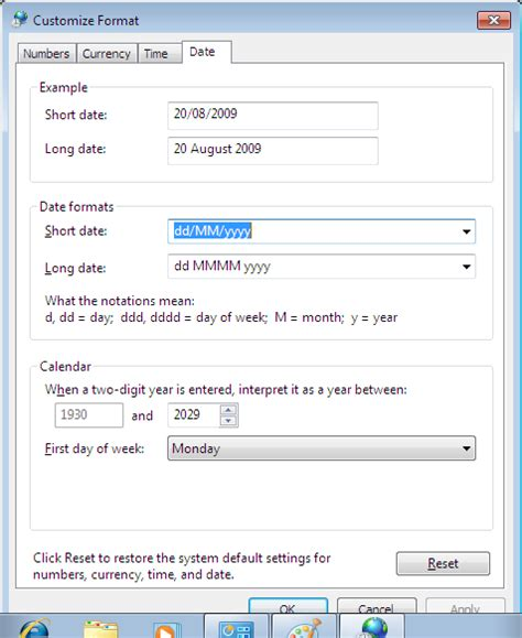 format date php 4 how to change windows 7 date format super user