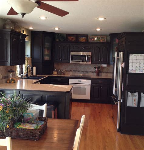 Rustoleum Kitchen Cabinet by Cabinet Transformation By Chris P