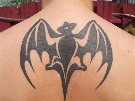 bat tribal tattoo tribal design batman for guys or the bacardi bat