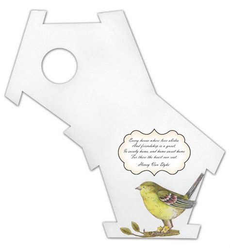 birdhouse templates cards best photos of birdhouse card template 3d paper house