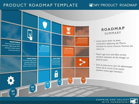 50 Best Images About Product Roadmaps On Pinterest Product Management Presentation Template