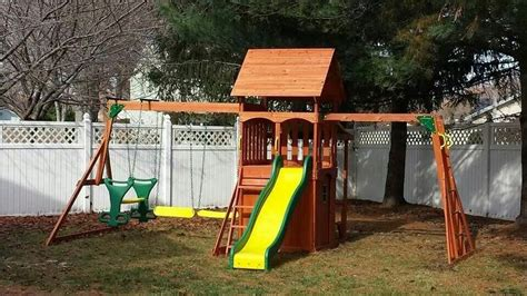 backyard discovery saratoga playset from walmart