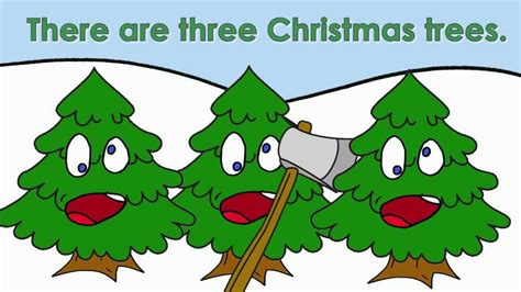 three christmas trees christmas songs for kids youtube