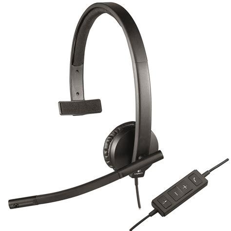usb logitech logitech usb headset mono h570e micro casque logitech