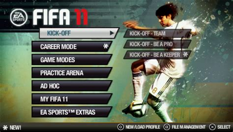 theme psp fifa add to collection