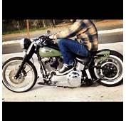 Very Nice Softail Bobber I Like The Colors  Cool Cars &amp Motorcycles