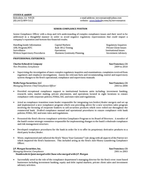 bank compliance officer description inspirational appliance repair sle resume resume daily