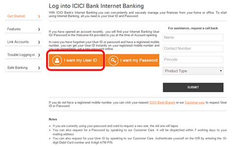 Icici Bank Banking Sign In Login