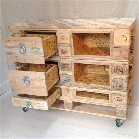 diy mini wooden drawers diy pallet chest with drawers 101 pallets