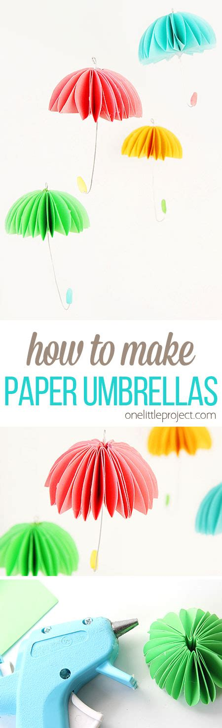 How They Make Paper - how to make paper umbrellas