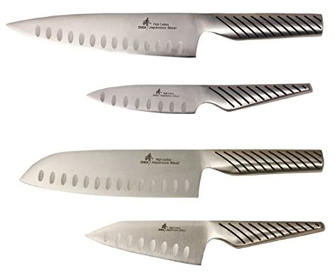 high carbon kitchen knives japanese kitchen knife set santoku paring chef knives