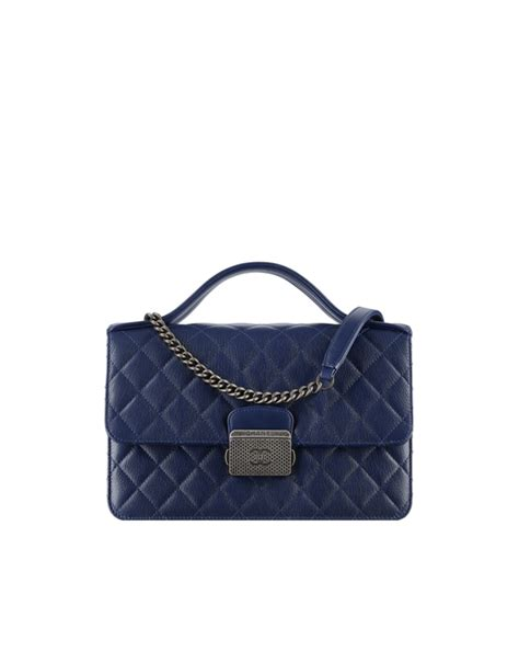 Bag Tas Chanel Navy chanel fall winter 2016 act 1 bag collection spotted fashion