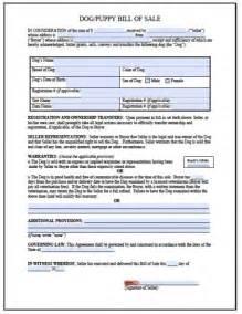 free dog puppy bill of sale form pdf word doc