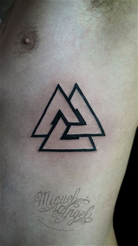 three triangle tattoo triangle flickr photo