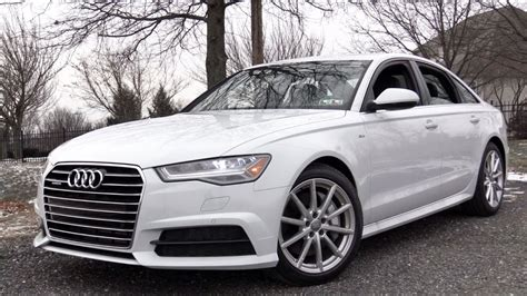 Review Of Audi A6 by 2017 Audi A6 Review Youtube