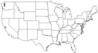 us map with blank state names blank map of usa with state boundaries