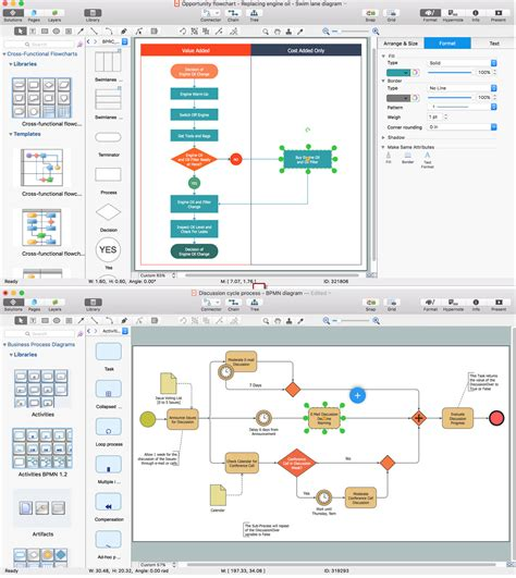 free flowchart app process flow app for mac free trial for mac pc