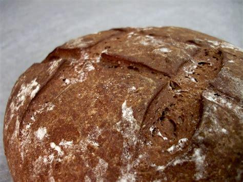 career in the oven dark german rye bread